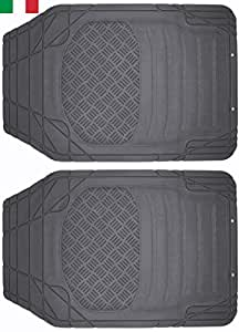 cenni 38925 set 2 auto fu matten aus gummi zuschneidbar universal made in italy auto. Black Bedroom Furniture Sets. Home Design Ideas