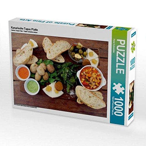 Kanarische Tapas Platte 1000 Teile Puzzle quer: typisches Essen auf den Kanarischen Inseln (CALVENDO Orte)