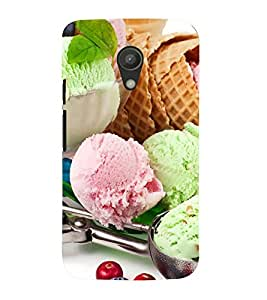 Colourful Ice-cream dollops 3D Hard Polycarbonate Designer Back Case Cover for Motorola Moto G2 :: Motorola Moto G (2nd Gen) :: Motorola Moto G XT1068 :: Motorola Moto G (2nd Gen) :: Motorola Moto G Dual SIM (2nd Gen) :: Motorola Moto G Dual SIM 2014