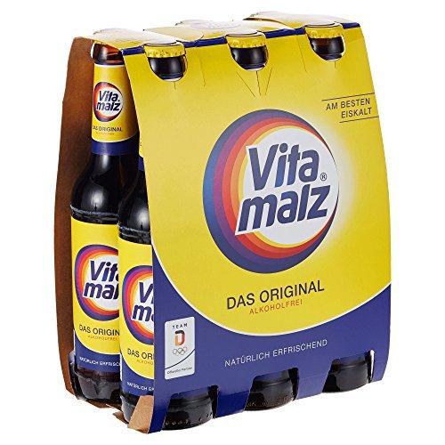 Vitamalz Alkoholfrei Bierpaket Mehrweg, (6 x 0,33 l)