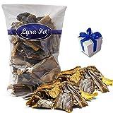 Lyra Pet 500g Aal getrockneter Fisch Hundefutter Leckerli Trockenfisch+ Geschenk