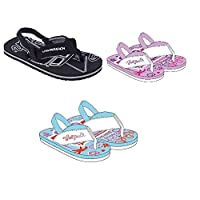 Urban Beach Infants FLIP Flops with Heel Strap- Toddler Beach Sandals Girls Boys