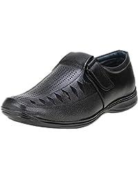 Koxko Ranzo2 Faux Leather Casual Sandal For Men