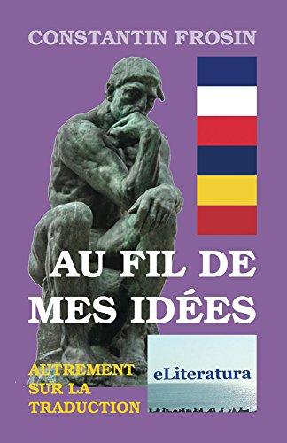 Couverture du livre Au fil de mes idees : autrement sur la traduction: Essais