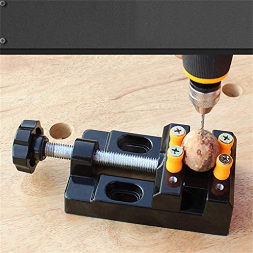 CAVIVI Universal Mini Bohrmaschine Schraubstock Clamp Tisch Bank Schraubstock für Schmuck Nussbaum Kern Uhr Reparatur Clip Auf DIY Skulptur Handwerk Carving Bett Werkzeug Column Clamp