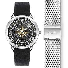 THOMAS SABO Womens Analogue Quartz Watch with Stainless Steel Strap Set_WA0351-217-203-33 mm