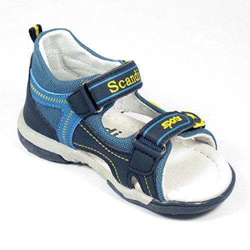 Enfants Sandal unisexe dans divers Tailles 22-28 Sandales Mules Sabots Marine