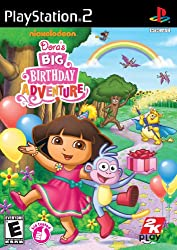 Dora the Explorer: Doras Big Birthday Adventure - PlayStation 2