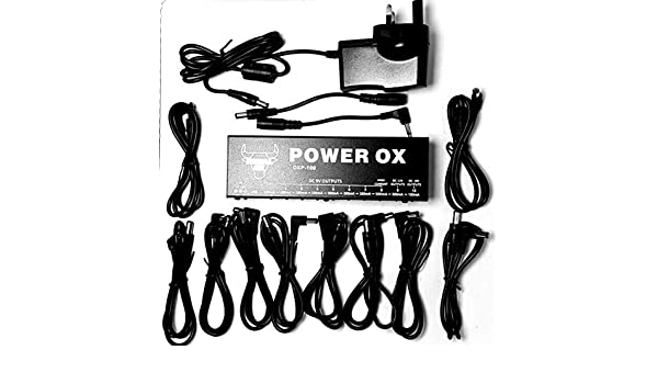 "OXP-100 /""Power Ox/"" Power Supply for Guitar Effect Pedal METAL OX"