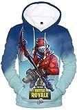 Best Sudaderas error - EMILYLE Unisex Fortnite Game Scene Impreso Figura Hoodie Review