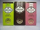 Jain's Set of 3 Natural Essential Oil (1...