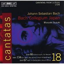 Cantatas Vol.18 - Nº.66,67,134-M.Suzuki