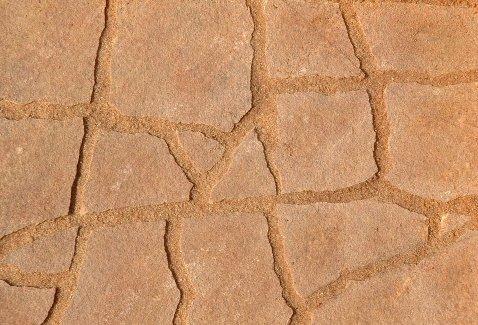 Mainbrick Pflasterfugenmörtel Fix-Fertig Fugenmörtel Terracotta 15 kg - Keine Unkraut, Wasserdurchlässig,