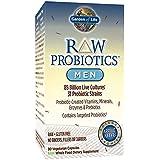 Garden of Life - Probiotiques Brutes - pour Hommes - 90 capsules végétales (Glace)
