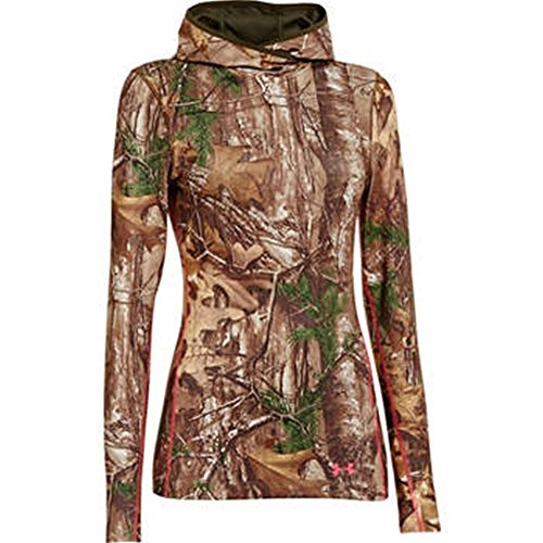 Under Armour UA Coldgear Infrared Scent Control Evo Hoody - Women's Realtree AP-Xtra / Perfection XL - Coldgear Hoody