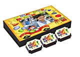 "CANDYCORNER ""Happy Birthday Chocolates Box"" ( 4 CHOCOLATE BOX ) FREE 2 CHOCO CANDIES - with ""Assorted "" Candies -Unique gift for HAPPY BIRTHDAY ELEPHENT TOY BOX"