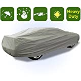 2 Layer Cotton Lined Waterproof Family Car Rain Cover All Weather WCC0P