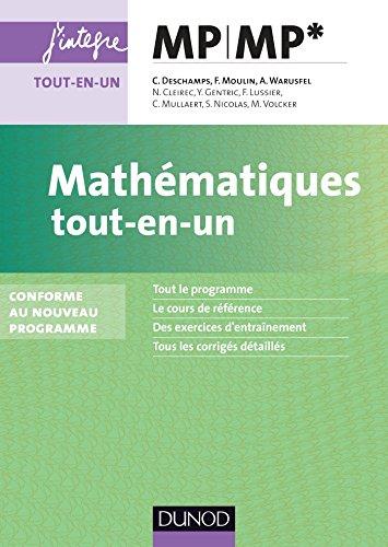 Mathématiques tout-en-un MP-MP* : Conforme au nouveau programme (Concours Ecoles d'ingénieurs)