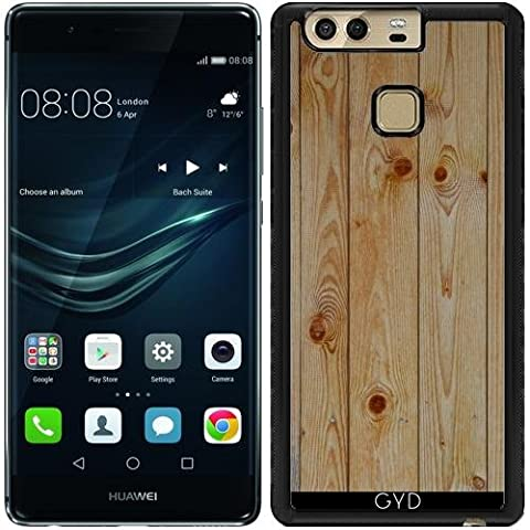 Coque Silicone pour Huawei P9 - Bois Style Nature De Motif by WonderfulDreamPicture