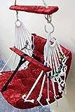 #3: Cycle Store Baby Swing Hanging Velvet Cloth Jhula (Lxbxh: 45X45X15