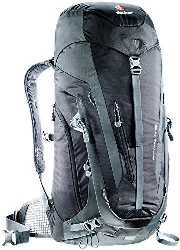 Imagen de deuter act trail  para montaña, unisex adulto, negro black / granite , 36 l