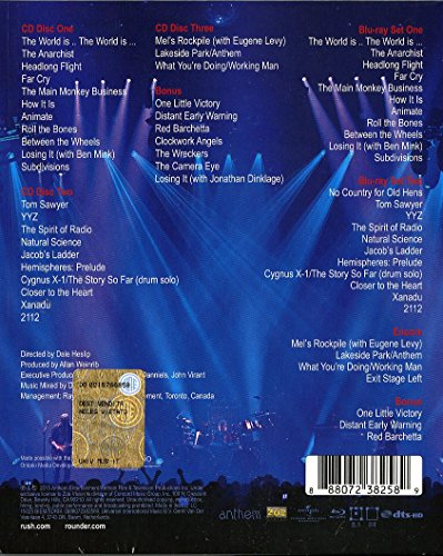 R40 Live (3 CD + Bluray)
