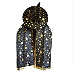 Description:      Perfect For Halloween, Parties, Masquerade, Scenes Dress up.Item Type: Yellow Cloak Cape with Gold Stamping Star and Witches Pointy HatDepartment Name: ChildrenGender: UnisexPattern: Gold Stamping StarColors: YellowOccasion:...