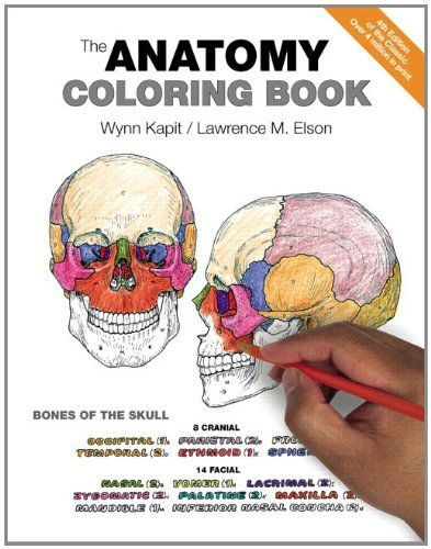 The Anatomy Coloring Book (4th Edition) by Kapit, Wynn, Elson, Lawrence M. (2013) Paperback