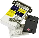 Eliza Tinsley 3 Lever Sash Lock with 63mm Case and Reversible Latch - Satin Nickel Plated