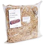 Sphaigne Premium du Chili 500 gr., Subtrat Naturel, Sphaigne pour Orchidées, Sphaigne pour culture hydroponique,