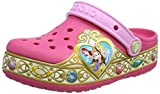 Crocs Crocband Disney Princess Lights Clog Kids, Mädchen Clogs, Pink (Vibrant Pink), 28/29 EU