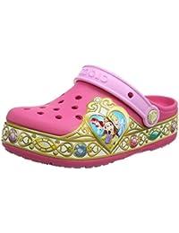 Crocs Crocband Disney Princess Lights Clog K, Zuecos para Niñas