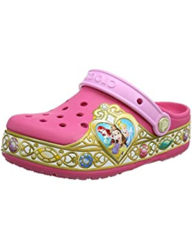 Crocs Crocband Disney Princess Lights Clog Kids, Zuecos Para Niñas