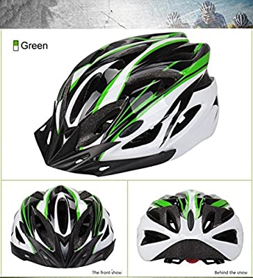 IREALIST Eco-Friendly Super Light Integrally Bike Helmet,Adjustable Lightweight Mountain Road Bike Helmets for Men and Women by IREALIST