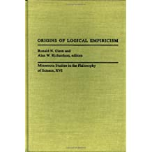 origins of logical empiricism giere ronald n richardson alan w