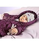 Klitzeklein 2 teiliger Baby warmer Schneenazug, Farbe bordeaux, versch. Größen (86)