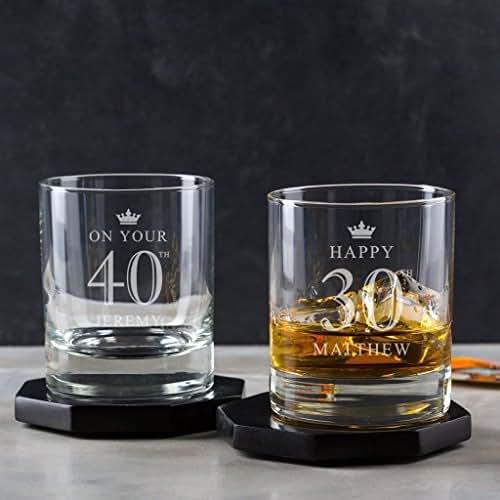 whisky glas mit gravur personalisierte geschenke f r m nner 50 geburtstag mann. Black Bedroom Furniture Sets. Home Design Ideas