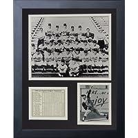 """Preisvergleich für Legenden Sterben Nie """"1959Los Angeles Dodgers"""" gerahmtes Foto Collage, 11x 35,6cm von Legends Never Die"""