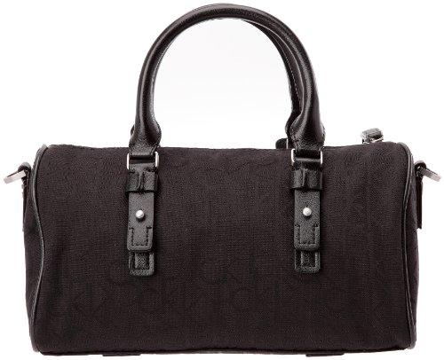 Calvin Klein Speady, Sac à main femme - Synthetique et textile, Taille unique Noir