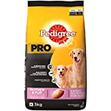 Pedigree PRO Expert Nutrition Lactating/Pregnant Mother and Pup (3-12 Weeks) Dry Dog Food, 3kg Pack