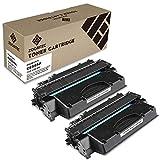 ZOOMTEC Compatible Toner pour CE505A 05A Cartouche de Toner Compatible pour HP Laserjet P2030 P2035 P2035N P2050 P2055 P2055D P2055DN P2055X Imprimante(2 Noir, 2.300 Feuilles)