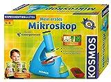 KOSMOS 634032 - Mein erstes Mikroskop für die Kindergartenzeit -  Mikroskop für Kleinkinder - Experimentierkasten für 4 - 6 Jahre