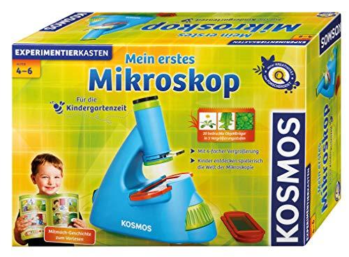 KOSMOS 634032 Microscopio Juguete y Kit de Ciencia para niños - Juguetes y...
