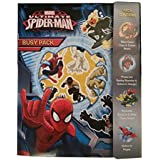 MARVEL ULTIMATE SPIDERMAN BUSY ACTIVITY PACK - COLOURING BOOK - ACTIVITIES - STICKERS - DRAWING by Marvel