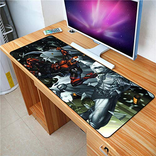 Spiel Mauspad Film Charaktere HD Bilder Die Größe die jeder mag Pc Gaming Mouse Mat Pad 80x30cm * 3mm (Cartoon Passt Charakter)