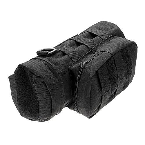 Generic Outdoor Sport Wasserflasche Wasserkessel Tasche schwarz - schwarz