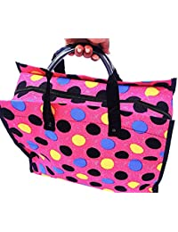Shopping Bags Grocery Bag Vegetable Bag With Reinforced Handles & Thick Base (K62)