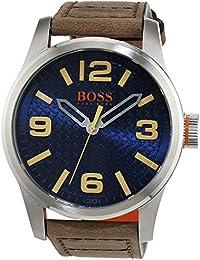 Hugo Boss Orange 1513352 - Reloj analógico de pulsera para hombre, correa de piel