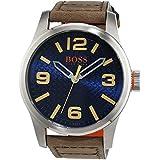 Boss Orange Paris 1513352 reloj caballero analógico de cuarzo de cuero