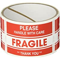TapeCase Fragile, Thank You Label, 76.2mm x 50.8mm (50 per pack)